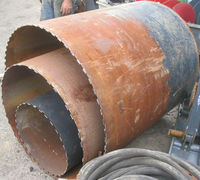 "Concrete Core Drill Bits 14""-38"" Diameter and Optional MECO Core Drill"