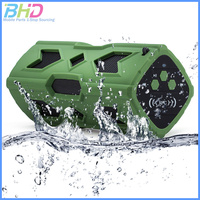 New Product 2016 Wireless Bluetooth 4.0 Speaker Waterproof Wireless NFC Speaker with 10 Hour Playback and 3600mAh Power Bank