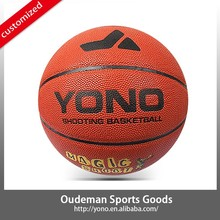 Branded YONO YN-008-3 size 7# 5# 3# basketball laminated PU basketball accessories sale