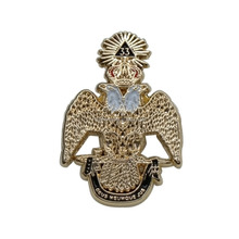 Eagle masonic lapel pins made metal badges custom