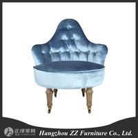 Triangle back cane seat armchair, hot sale sofa chair