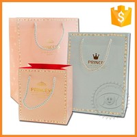 Recycled Luxury Promotional Paper Glass Wine Packaging Gift Bags
