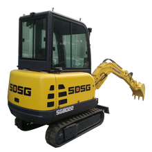 2017 Low price china mini excavator in dubai