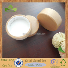 Cosmetics packaging wooden lid Cream bottle wooden cover