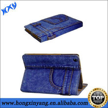 New Denim Jeans Smart Cover Case for iPad 2 3 4 with Auto Sleep Wake