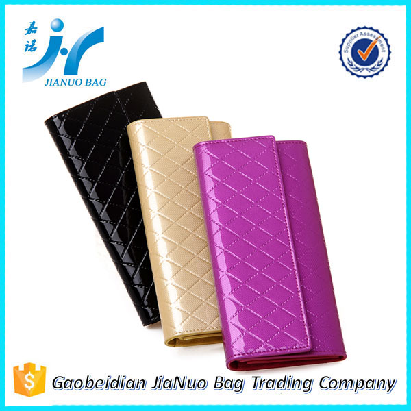 Latest Cheap Wholesale Fashion Ladies Purse, New Stylish Ladies Leather Wallet