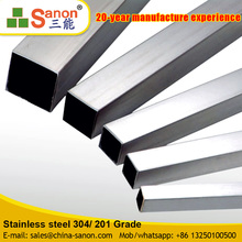 Sanon High Quality Anti Deformation Welded 75X75 Tube Square Pipe