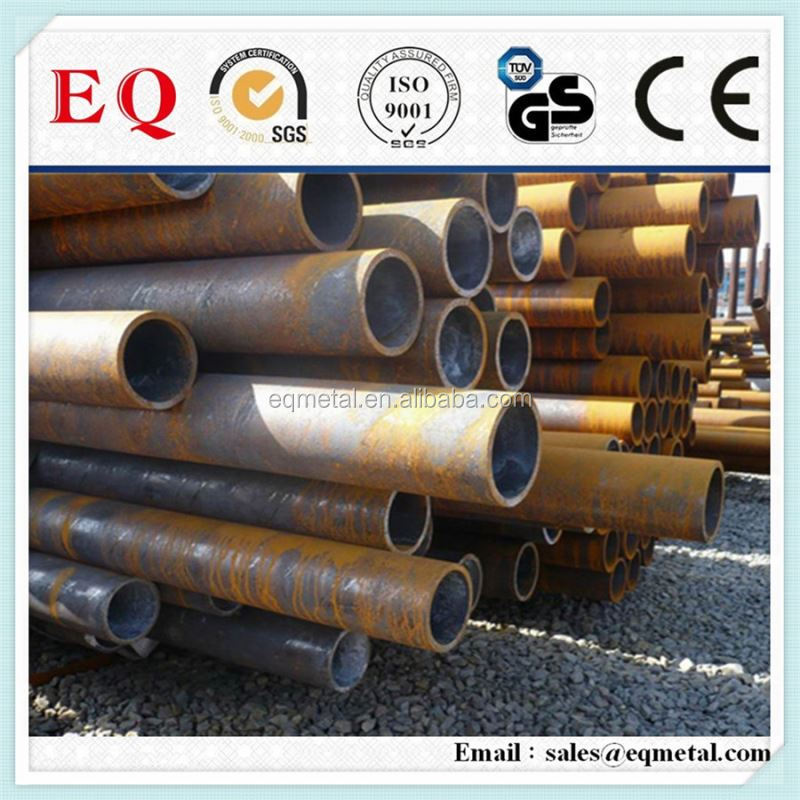 Large stock in warehouse black corrugated steel pipe price