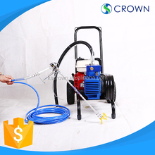 High speed pumping mortar graco airless paint sprayer