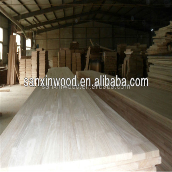 factory supply paulownia Wooden Edge Glued Board for Furniture