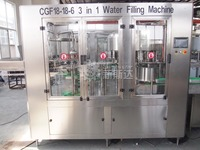 Factory machine natural mineral water filling