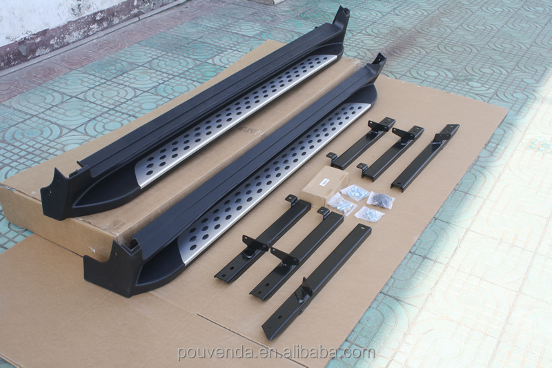 High Quality Aluminium Alloy Running Board for 2014+ X-TRAIL (BMW Style) Auto Accessories From Pouvenda