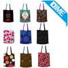 Promotion Coloured Drawing Fashion Cotton Shipping Chevron Tote Bags
