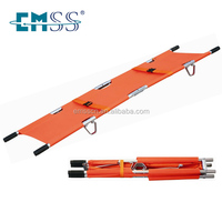 Light weight foldable emergency rescue stretcher