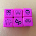 sexy game dice,Adult Games dice