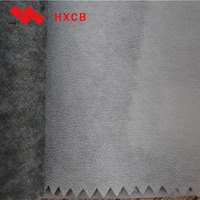 (6010WG)100% Polyester Double Dot Waterproof Adhesive Backed Nonwoven Lining Fabric
