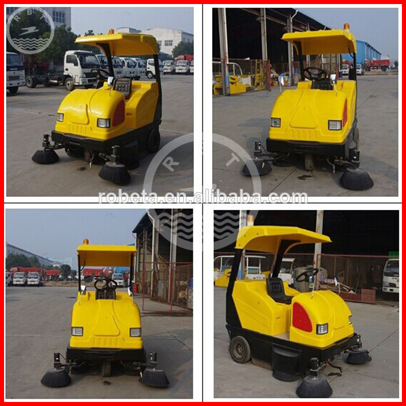 Robeta small street manual road sweeper