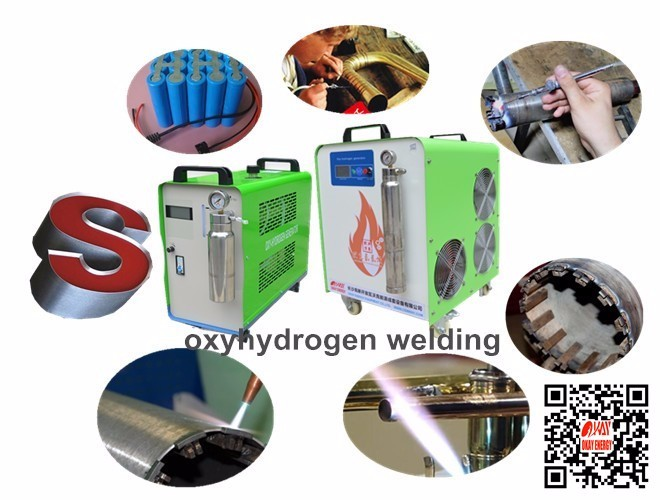 Weld fast high frequency hho water hydrogen welding machine