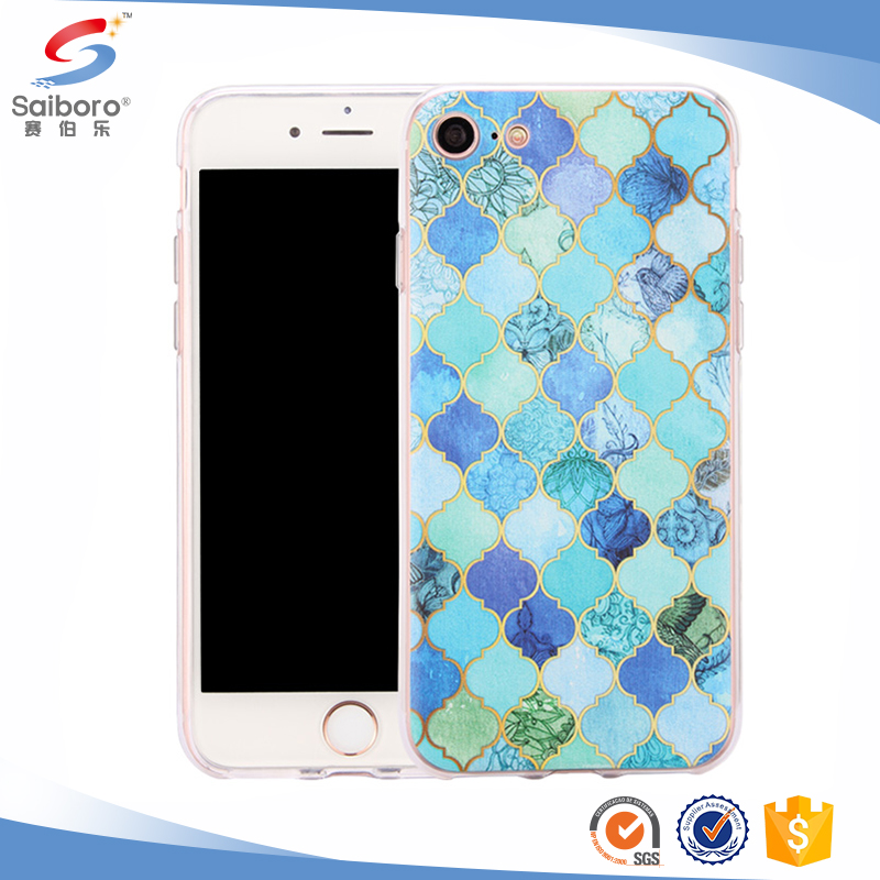 High quality for iphone 7 marble paste case,pastel marble for iphone 7 case