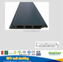 Outdoor WPC laminated external wood plastic composite wall siding panel