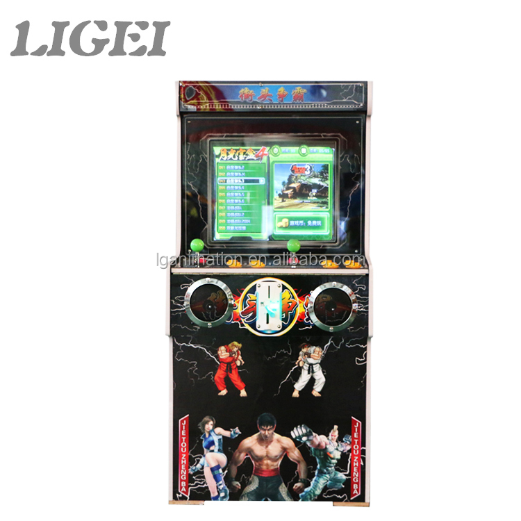 Popular 2 players arcade cabinet Street Fighter fighting electric entertainment game machine