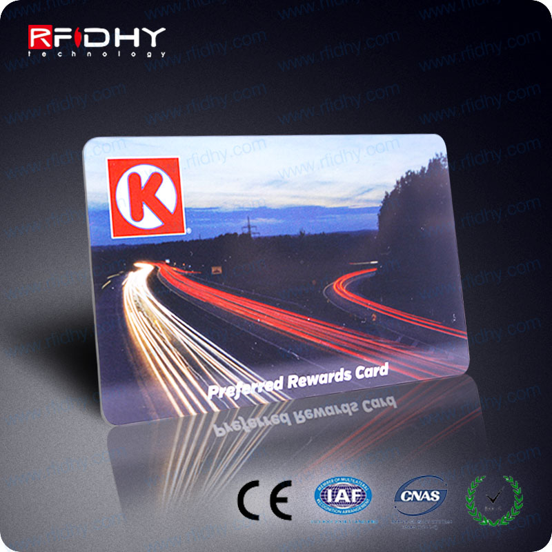PROGRAMMABLE PVC MATERIAL RFID MIFARE(R) 1K LOYAL CARD