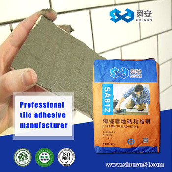 SHUNAN ceramic tile adhesive made in Shanghai