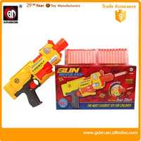 2015 china wholesale battery operated nerf toy air soft electric guns/abs foam toy gun plastic sniper rifle toy air soft electri