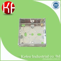steel plated weatherproof electrical box extensions switch and socket junction british standard metal box