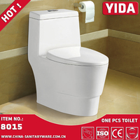 siphonic one piece toilet wc commode bathroom lavatory use ceramic toilet