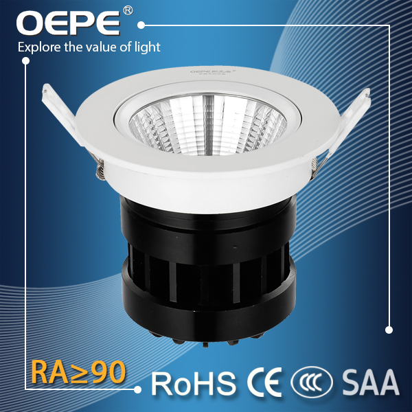 High Cri Led Spot Light Furniture Store Lighting Ra>90 Led 20W Cob Embedded Ceiling Spot Light