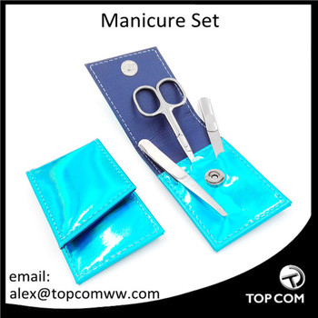 Blue High Quality Manicure Tools