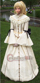 medieval gothic punk dress for party lady dress cosplay costume custom made