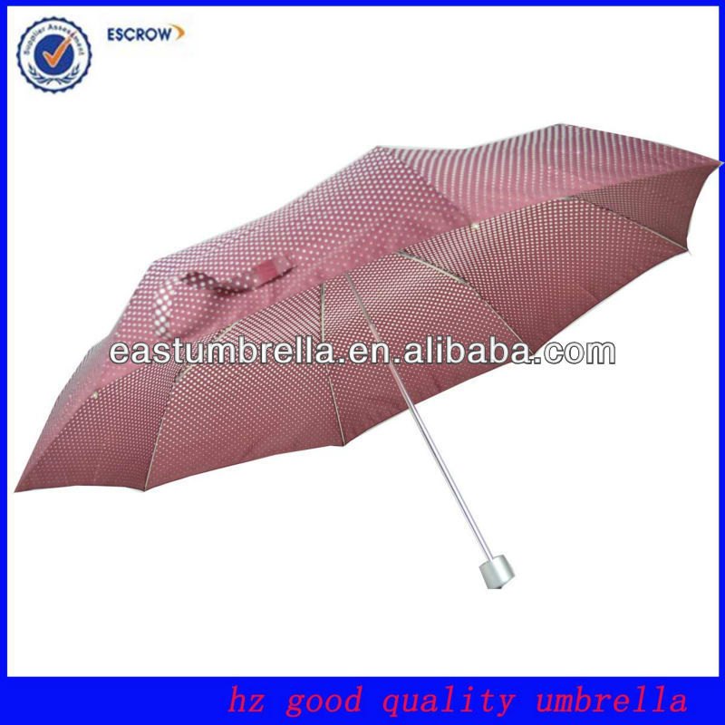 21 inch wind proof 3 fold american made umbrellas