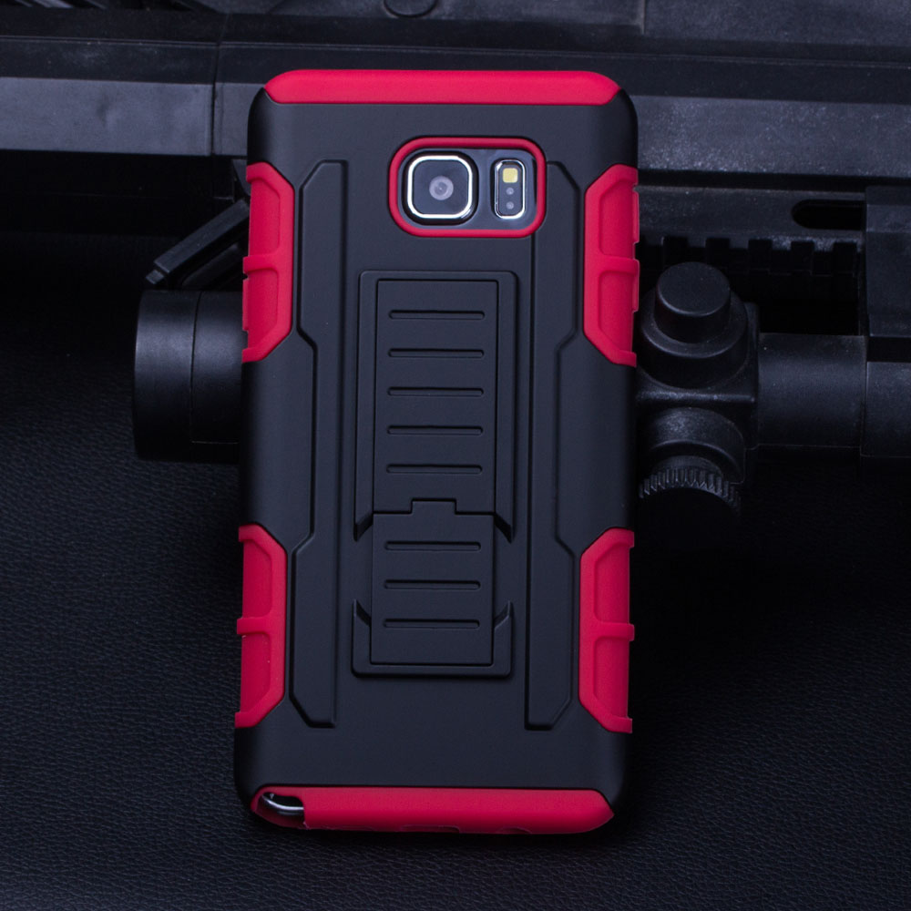 (INSTOCK!FAST SHIPPING) Armor Shockproof Kickstand Hybrid Moblie Phone Case Cover For Samsung Galaxy Note 5 S7 PLUS S6 S5 a7