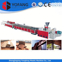 plastic pvc pipe extrusion machine/production line