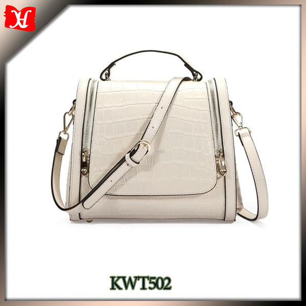 New Item Leather Women's Handbag Made in China