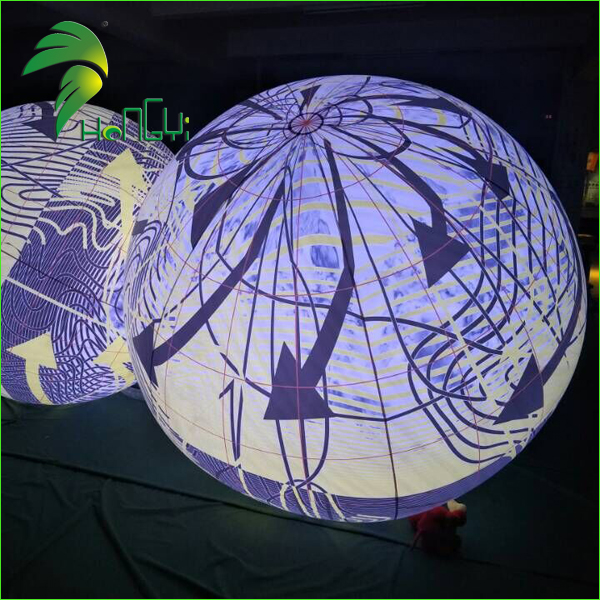 Christmas Party Decoration LED Light Inflatable Balloon