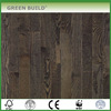 Dark Grey Oak Hand scraped hardwood solid wood flooring
