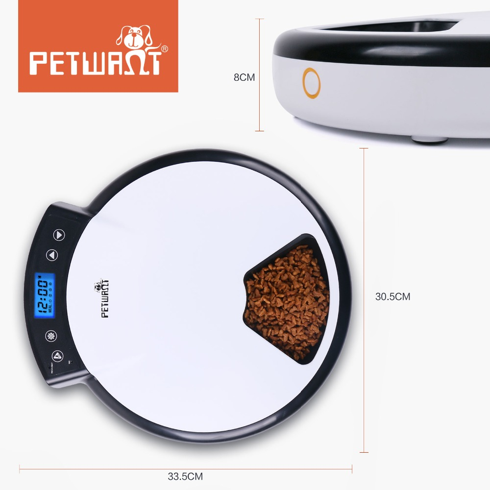 New Pet Products Automatic Electronic Pet Feeder