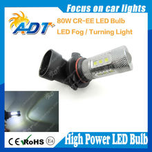 9005 9006 HB3 HB4 usa cr 80w 1000lumen led front fog lamp made in china led lighting bulb