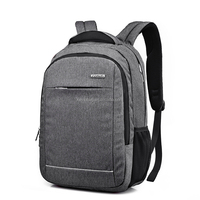 Leisure backpack male 14 inch, 15.6 inch laptop bag high school students computer backpack