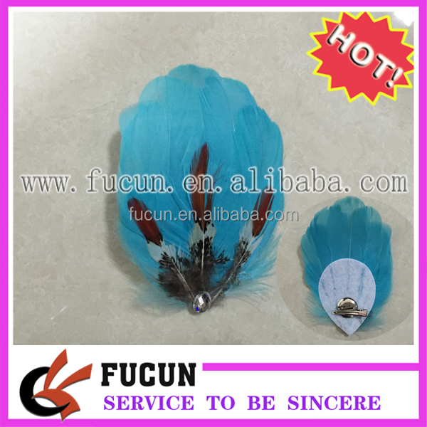 Top Selling Fashion Handmade Feather Pad Headdress for Headbands for Women