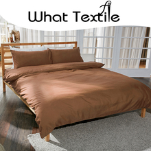 What Textile super soft solid dyed 100S 100% PIMA cotton fabric for bedding