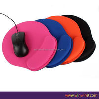 Hot! Promotion customized full printed cheap base material calculator ergonomic mousepad china