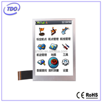 industrial a-si TFT LCD 3.5 inch landscape display module with capacitive touch