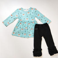 Wholesale Boutique Baby Clothes Set Children