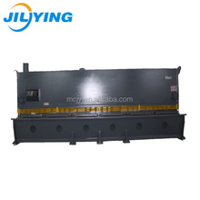 12mm thick 4000mm width Metal swing beam cutter angle hydraulic shearing machine