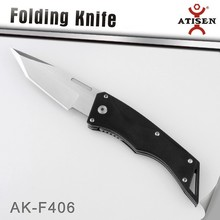 Outdoor Blade Liner Lock Folding Knife Stainless Steel G-10 Scales