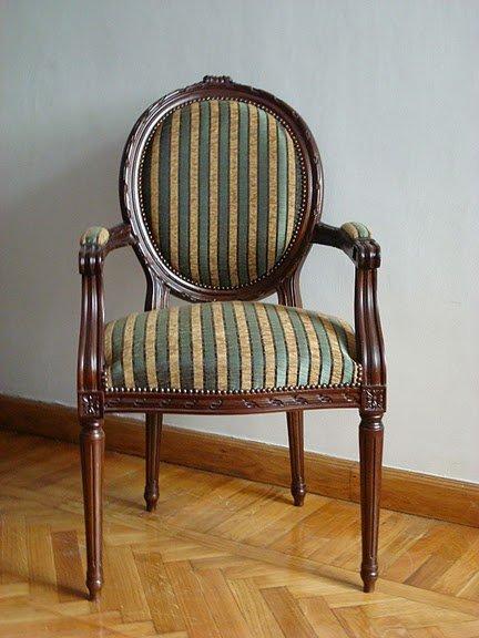 Sillas de madera louis xvi otros muebles antiguos - Sillas louis xvi ...